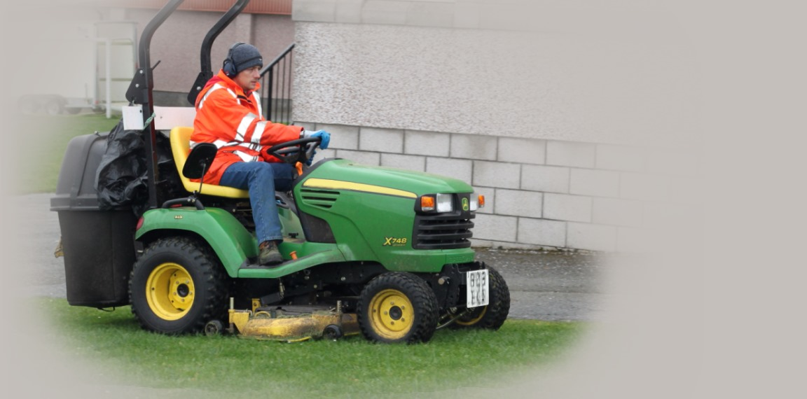Shetland's largest grounds maintenance contractors.